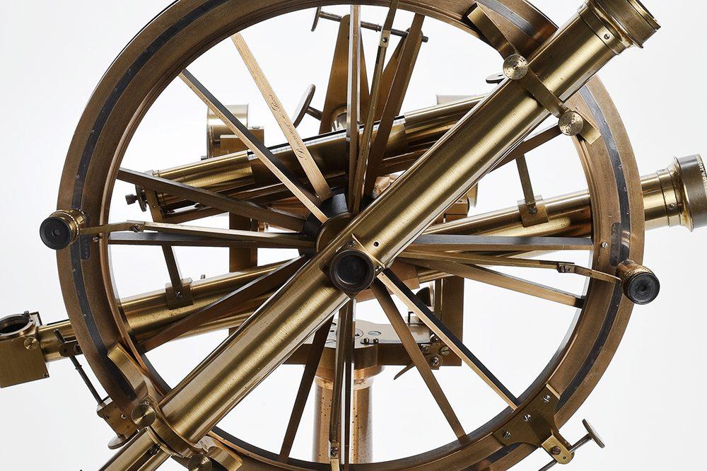 Detalhe do instrumento Círculo de borda